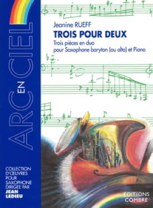 Jeanine Rueff - Trois Pour Deux - Partition - di-arezzo.fr