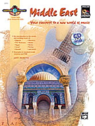 Middle East - Guitar Atlas - Jeff Peretz - laflutedepan.com
