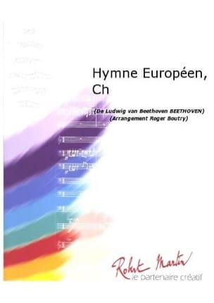 Hymne Européen BEETHOVEN Partition ENSEMBLES - laflutedepan