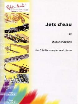 Alain Parent - Jets d'eau - Partition - di-arezzo.fr