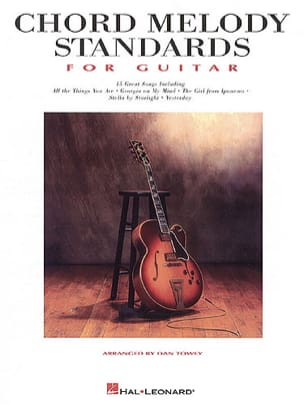 Chord Melody Standards For Guitar - Partition - di-arezzo.fr