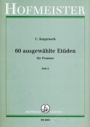 Georg Kopprasch - 60 Ausgewählte Etüden Heft 2 - Sheet Music - di-arezzo.com
