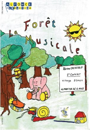 La Forêt Musicale 1er Cahier - Village Peaux - laflutedepan.com