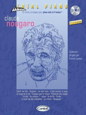 Claude Nougaro - Collection Total Piano - Partition - di-arezzo.fr