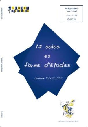 Jacques Delécluse - 12 Solos En Forme D' Etudes - Partition - di-arezzo.fr