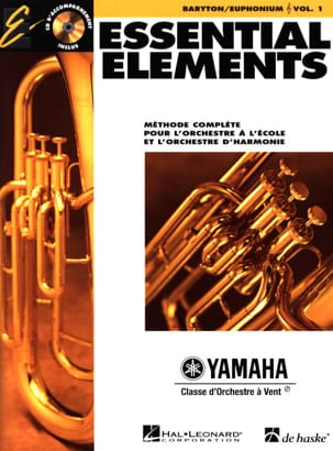 - Essential Elements. Baryton / Euphonium Sib (Sol) Volume 1 - Partition - di-arezzo.fr