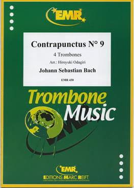 Contrapunctus N° 9 BACH Partition Trombone - laflutedepan