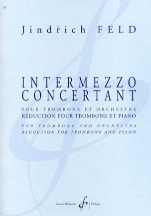 Jindrich Feld - Intermezzo Concertant - Sheet Music - di-arezzo.com