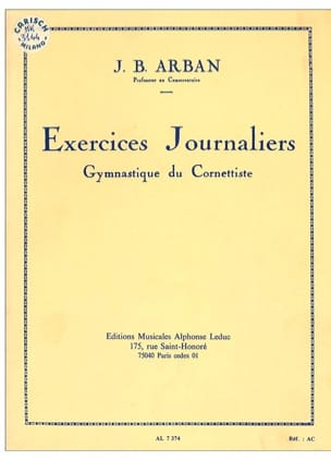 Jean-Baptiste Arban - Daily exercises - Sheet Music - di-arezzo.co.uk
