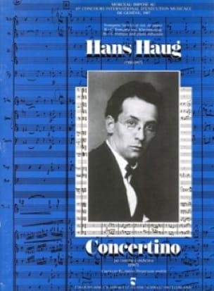 Concertino - Hans Haug - Partition - Trompette - laflutedepan.com