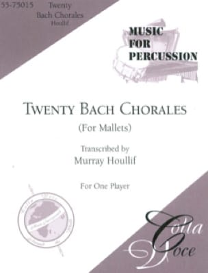BACH - Twenty Bach Chorales For Mallets - Partition - di-arezzo.fr
