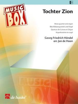 Georg Friedrich Haendel - Tochter zion - music box - Partition - di-arezzo.fr