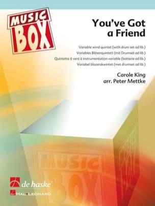 Carole King - You've got a friend - music box - Partition - di-arezzo.fr