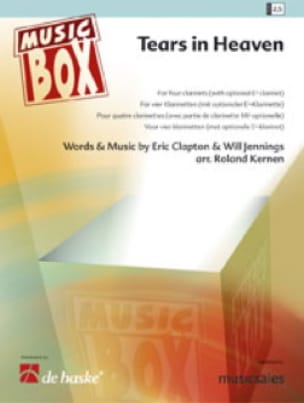 Eric Clapton - Tears in heaven - music box - Sheet Music - di-arezzo.com