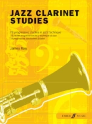 James Rae - Jazz Clarinet Studies - Partition - di-arezzo.fr