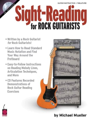 Michael Mueller - Sight-Reading For Rock Guitarist Volume 1 - Partition - di-arezzo.fr