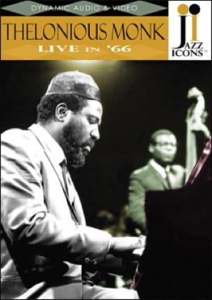 Thelonious Monk - DVD - Jazz Thelonius Monk Icons Live In '66 - Sheet Music - di-arezzo.co.uk