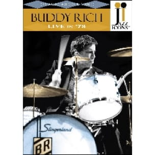 Buddy Rich - DVD - Jazz Rich Buddy Icons Live In '78 - Sheet Music - di-arezzo.co.uk