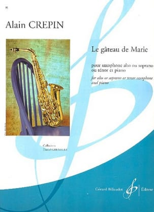 Alain Crepin - The cake of Mary - Sheet Music - di-arezzo.com