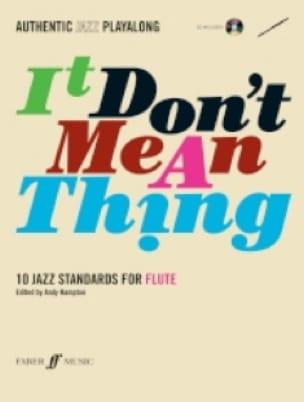 It Don't Mean A Thing - Partition - laflutedepan.com