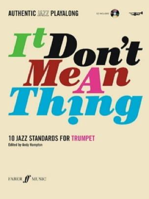 It Don't Mean A Thing - Partition - Trompette - laflutedepan.com