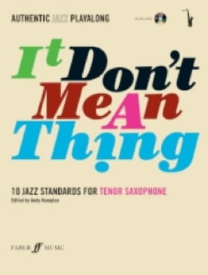 It Don't Mean A Thing Partition Saxophone - laflutedepan