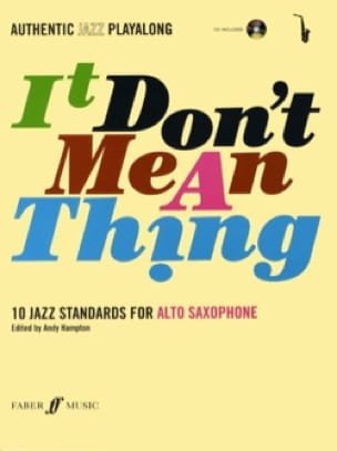 It Don't Mean A Thing - Partition - Saxophone - laflutedepan.com