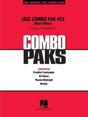 Jazz Combo Pak # 23 More Miles - Miles Davis - laflutedepan.com