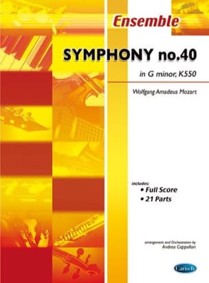 MOZART - Symphony No. 40 In G Mino, K 550 - Sheet Music - di-arezzo.com