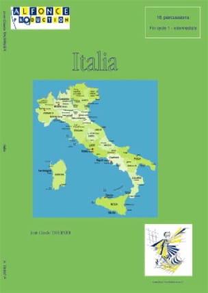 Italia - TAVERNIER - Partition - laflutedepan.com