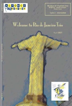 Welcome to Rio de Janeiro trio Yves Carlin Partition laflutedepan