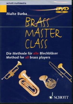 Malte Burba - DVD - Brass Master Class - Sheet Music - di-arezzo.co.uk