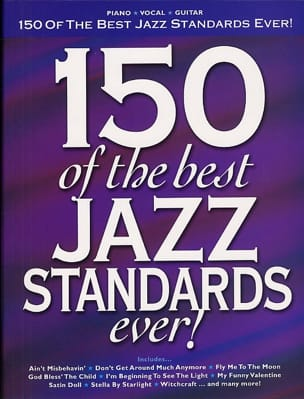 150 Of The Best Ever Jazz Standards! - Sheet Music - di-arezzo.com