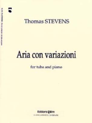 Aria Con Variazioni Thomas Stevens Partition Tuba - laflutedepan
