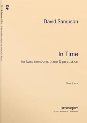 In Time - David Sampson - Partition - Trombone - laflutedepan.com