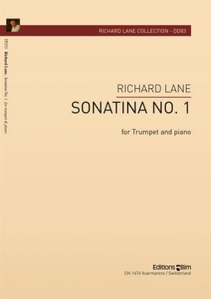 Sonatina N° 1 - Richard Lane - Partition - laflutedepan.com