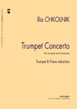 Trumpet Concerto Ilia Chkolnik Partition Trompette - laflutedepan
