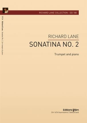 Richard Lane - Sonatina N° 2 - Partition - di-arezzo.fr