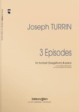 3 Episodes Joseph Turrin Partition Trompette - laflutedepan