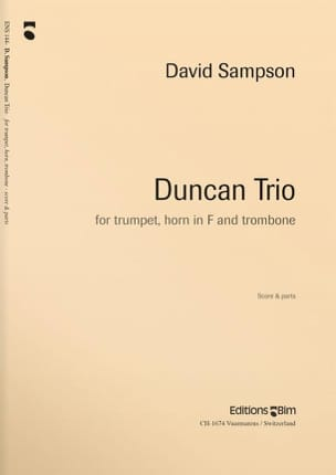 Duncan Trio David Sampson Partition Ensemble de cuivres - laflutedepan
