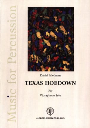 Texas Hoedown David Friedman Partition Vibraphone - laflutedepan