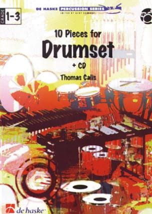 Thomas Calis - 10 Pieces For Drumset - Sheet Music - di-arezzo.co.uk