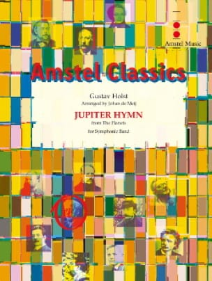Jupiter Hymn From The Planets - HOLST - Partition - laflutedepan.com