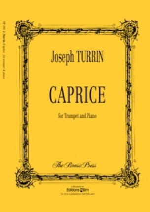 Caprice Joseph Turrin Partition Trompette - laflutedepan