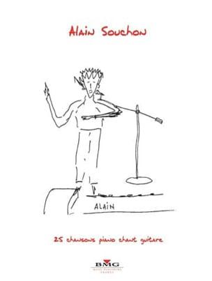25 Chansons - Alain Souchon - Partition - laflutedepan.com