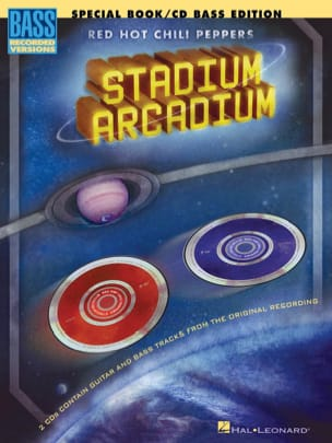 Stadium Arcadium - Special Book / Cd Bass Edition - laflutedepan.com