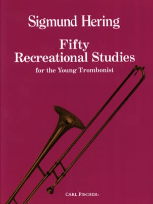 Sigmund Hering - Fifty Recreational Studies For The Young Trombonist - Sheet Music - di-arezzo.com