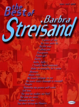 Barbara Streisand - The Best Of Barbara Streisand - Partition - di-arezzo.fr