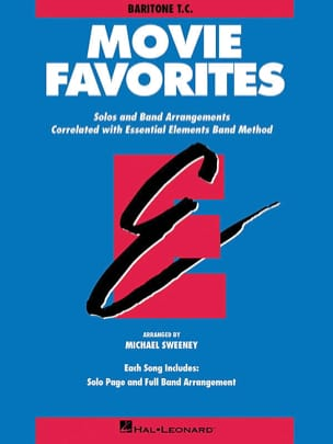 Movie Favorites - Baritone T.C. Partition ENSEMBLES - laflutedepan