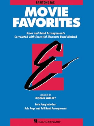 Movie Favorites - Eb Baritone Saxophone Partition laflutedepan